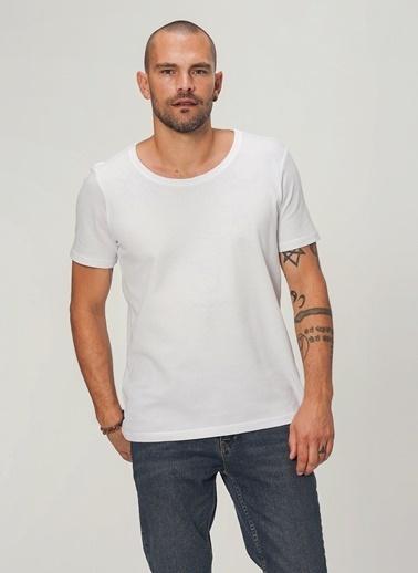 People By Fabrika Tişört Beyaz